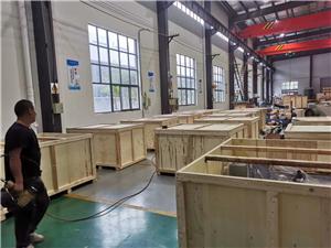 异形机械设备木包装箱打包
